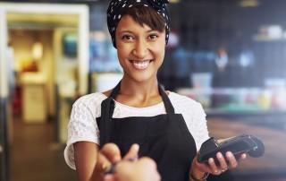 Hvordan leie en betalingsterminal