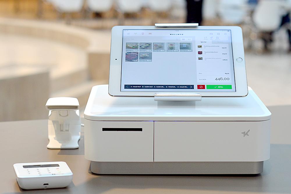 Det iPad-baserte kassasystemet Wallmob