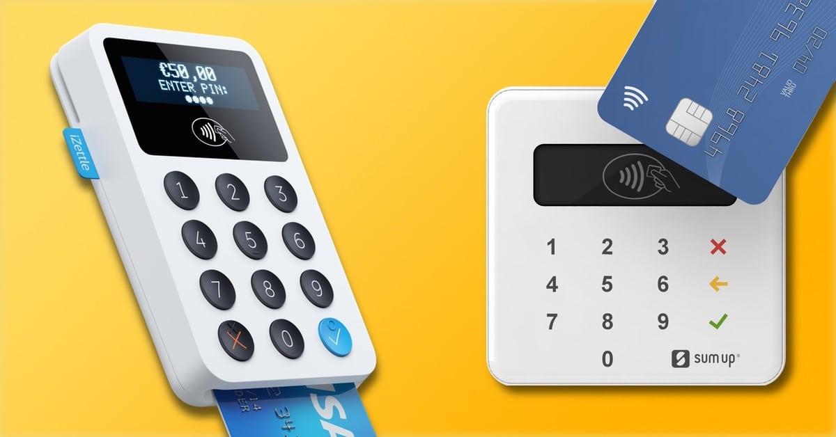 iZettle eller SumUp: hvilken kortterminal for mobil er best?