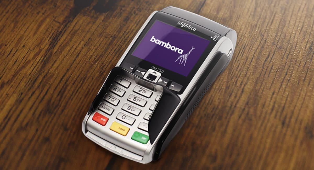 Bambora betalingsterminal